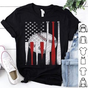 American Flag Vintage Baseball shirt