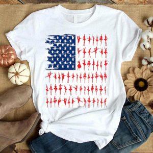 Ballet Flag Usa Ballet American Flag Flag 4th Of July Shirt