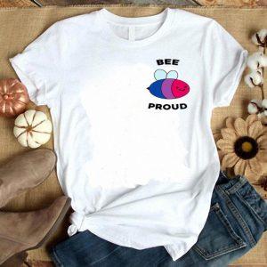 Bee Proud Bisexual Flag Pocket Bi Bee Bi Flag Pride shirt