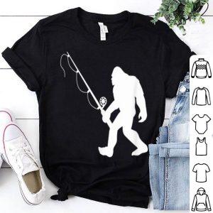 Bigfoot Take Fishing Pole Shirt
