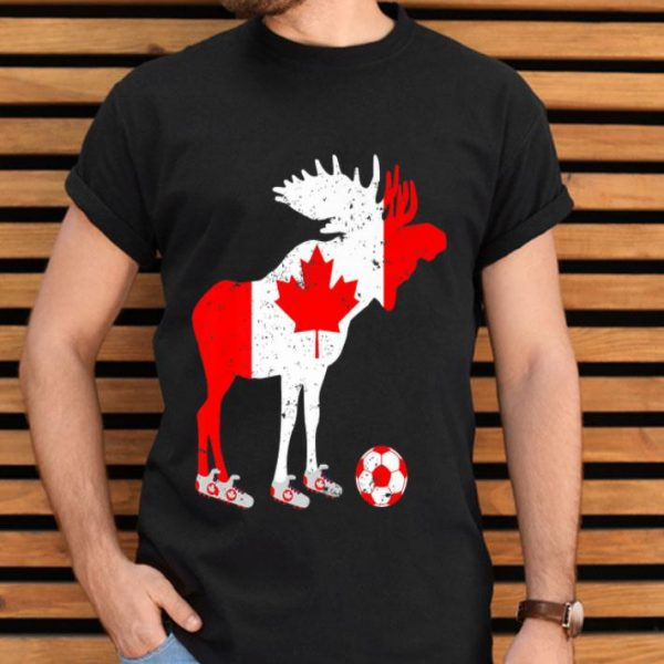 Canada Moose Soccer Jersey Womens World 2019 Cup Vintage shirt
