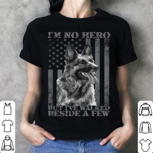 German Shepherd K-9 Unit Police Dog 4th Of July shirt