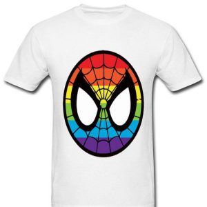 LGBT World Pride 2019 Rainbow Spider Man Mark shirt