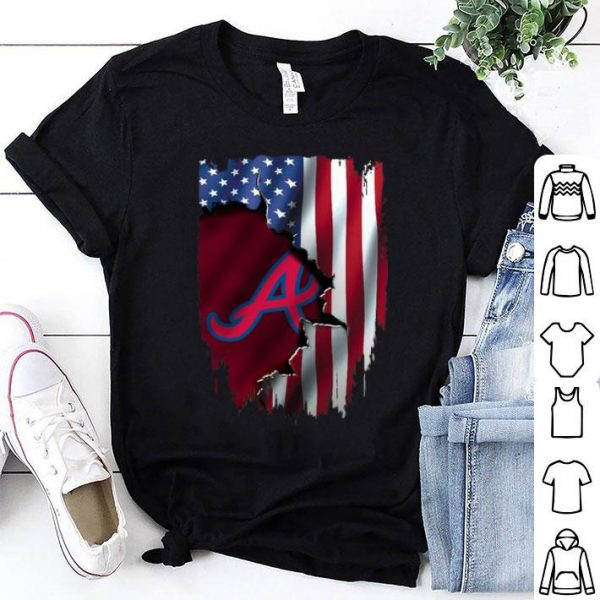 MLB American Flag Atlanta Braves shirt