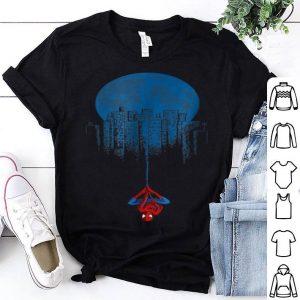 Marvel Spider-man Blue Steel Moon Hang Graphic Shirt