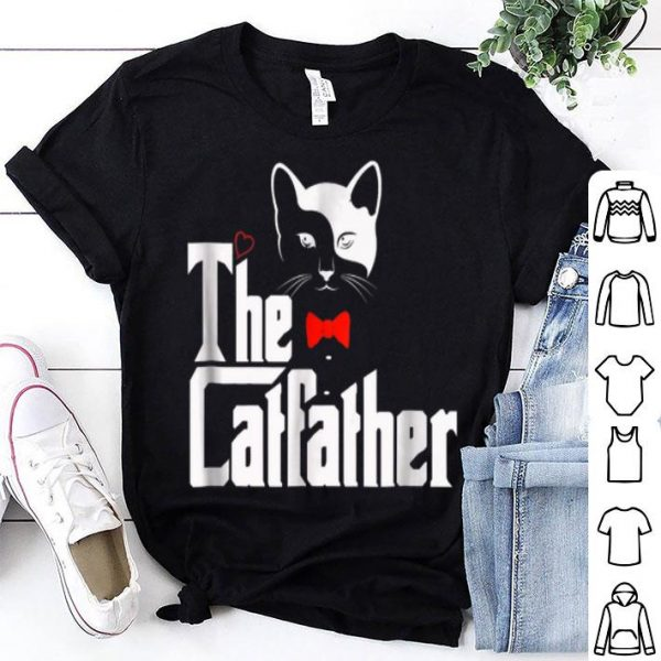 The Catfather, Cat Dad Lover Gift Shirt