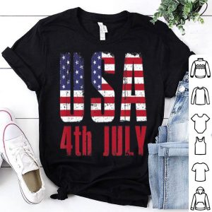 Usa Patriotic American Pride 4th Of July T Shirt