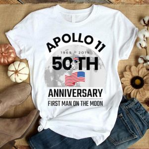 2019 Apollo 11 50th Anniversary First Man on the Moon shirt
