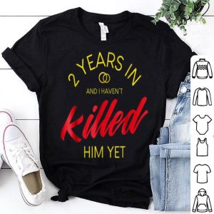 2Nd Wedding Anniversarys For Her 2Nd Year Annive shirt