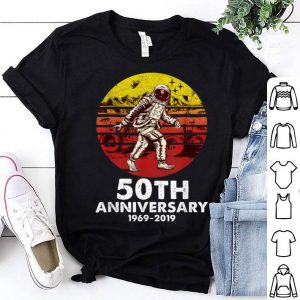 50th Anniversary 1969 Vintage Retro Bigfoot Astronaut shirt