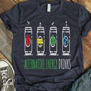 Alternative Energy Drinks Cute Save The Earth shirt