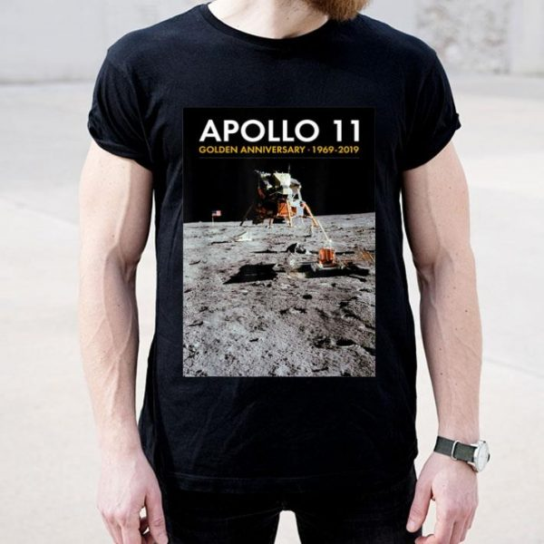Apollo 11 50th Anniversary Eagle Landed on Moon shirt