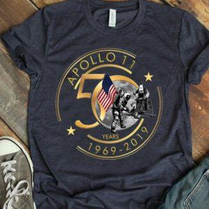Apollo 11 50th Anniversary Moon Landing 1969 2019 Giant Leap shirt