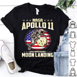 Apollo 11 50th Anniversary Moon Landing 1969 2019 Spacecraff shirt