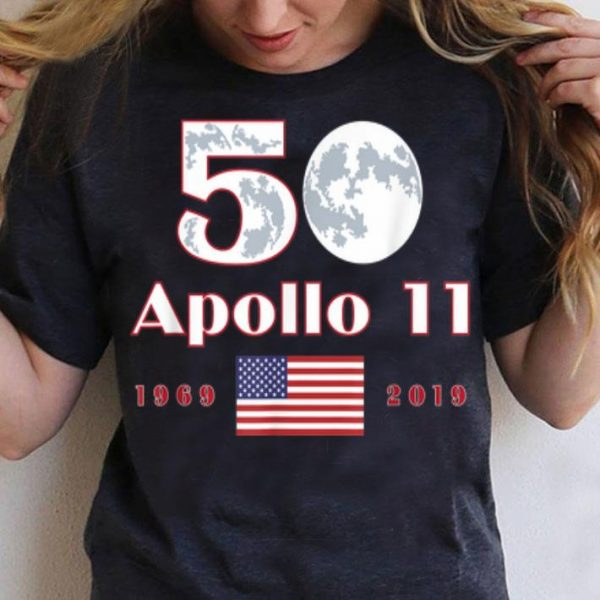 Apollo 11 50th Anniversary Moon Landing Family shirt