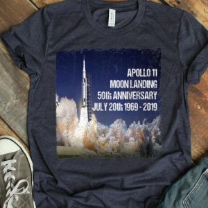 Apollo 11 Rocket 50th Anniversary Moon Landing 1969 – 2019 Giant Leap shirt