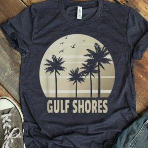 Gulf Shores Alabama Vacation Souvenir Summer Holiday shirt
