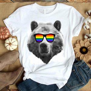 LGBTQ Purride Gay Bear Lesbian Pride Rainbow shirt