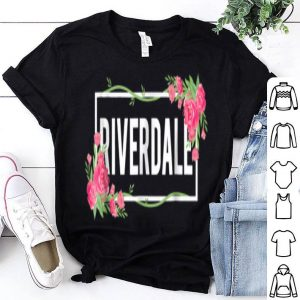 Riverdale Ny Floral Hibiscus Flower shirt