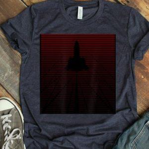 Shockwaves Sr-71 Blackbird Oxcart Fade To Red shirt