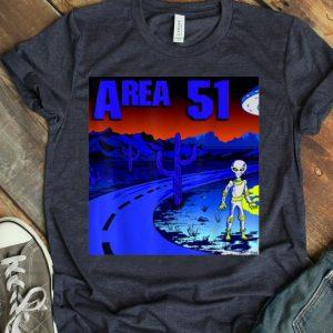 UFO Landing Alien Sighting In Area 51 shirt