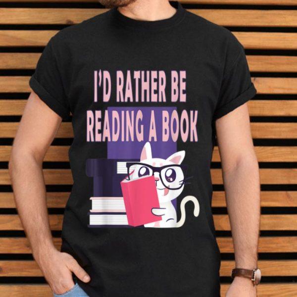 Women Cat Eyeglasses Reading. Book Club For Girls shirt