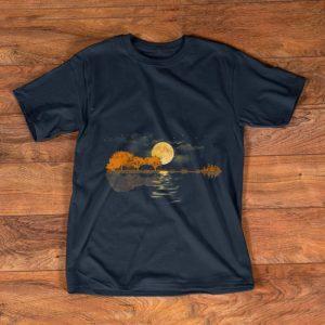 Awesome Acoustic Guitar Player Guitar Lake shirt