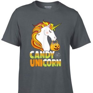 Awesome Candy Pumpkin Unicorn Halloween shirt
