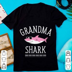 Awesome Grandma Shark Doo Doo Doo Sunglass shirt