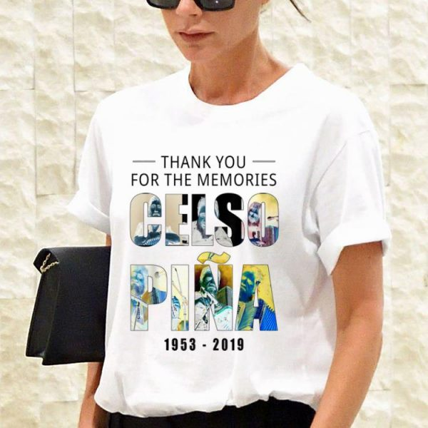 Awesome Thank You For The Memories Celso Pina 66th shirt
