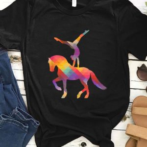 Awesome Vaulting On The Horse Equestrian Sport Vaulting Queen shirt