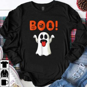 Funny Boo Ghost For Halloween Day shirt