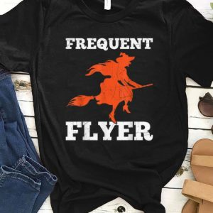 Funny Frequent Flyer Witch Perfect Halloween Gift shirt