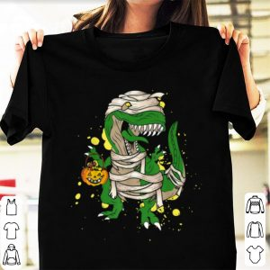 Hot Halloween Pumpkin Dinosaur Gift For Kids Boys Girls shirt