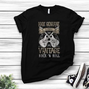 Nice 100% Genune Class Guitar Electric Vintage Rock N Roll shirt