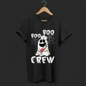 Nice Boo Boo Crew Nurse Ghost Halloween shirt