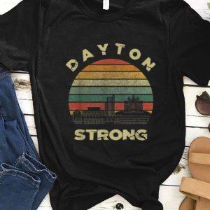 Nice Dayton Strong Cityscape Ohio Vintage shirt
