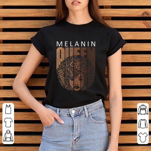 Nice Natural Afro Melanin Queen African American shirt