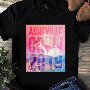 Original Asheville Crew 2019 Side Piece Action shirt