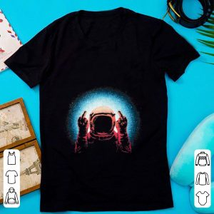 Premium Fuck The World Astronaut Spaceman shirt