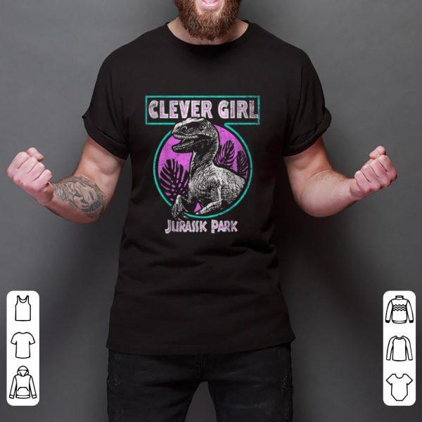 Premium Jurassic Park Retro Raptor Clever Girl shirt