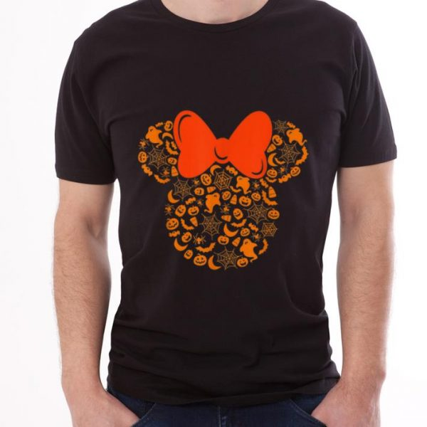 Pretty Disney Minnie Mouse Halloween Silhouette shirt