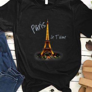Pretty Eiffel Tower Paris Je T'aime I Love Paris France shirt