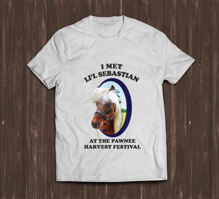 Pretty Parks And Recreation I Met Lil Sebastian Shirt