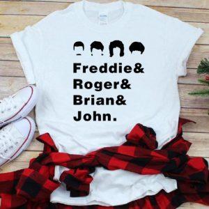 Pretty Queen Freddie Roger Brian And John shirt