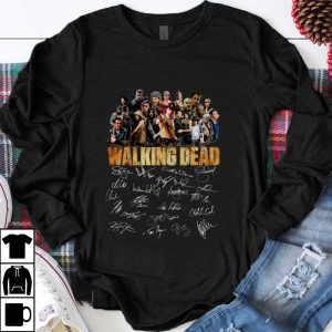 Pretty The Walking Dead Signature shirt