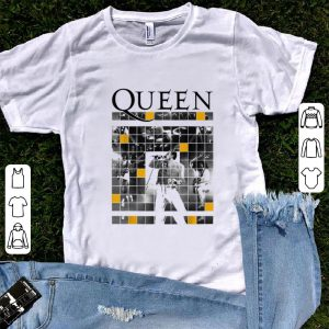 Top Queen Official Live Concert Blocks shirt