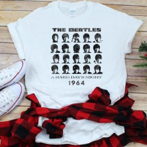 Top The Beatle A hard Day's night 1964 shirt