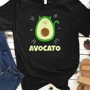 Avocado Cat Kawaii shirts