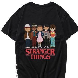 Awesome Angry Cartoon Face Characters Stranger Things shirt